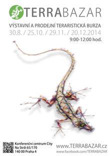 Terrabazar plakát - srpen 2014