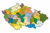 Mapa Národní sítě záchranných stanic 2019